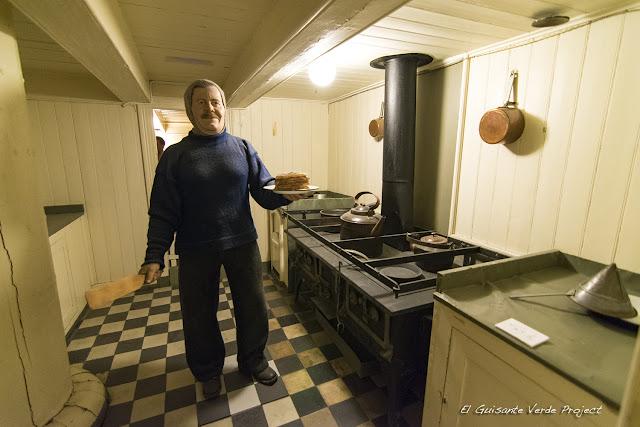 Cocina del Fram - Museo Fram, Oslo por El Guisante Verde Project
