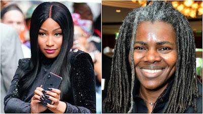 Tracy Chapman processa Nicki Minaj por violação de direitos autorais