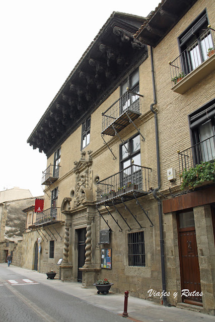 Palacio Ongay-Vallesantoro, Sangüesa
