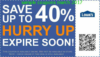 Lowes Home Improvement coupons march 2017