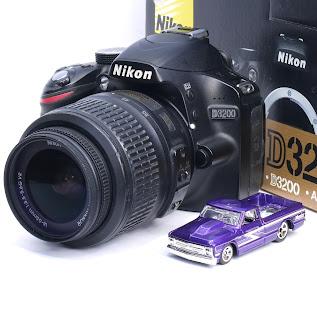 Kamera DSLR Nikon D3200 Fullset Di Malang