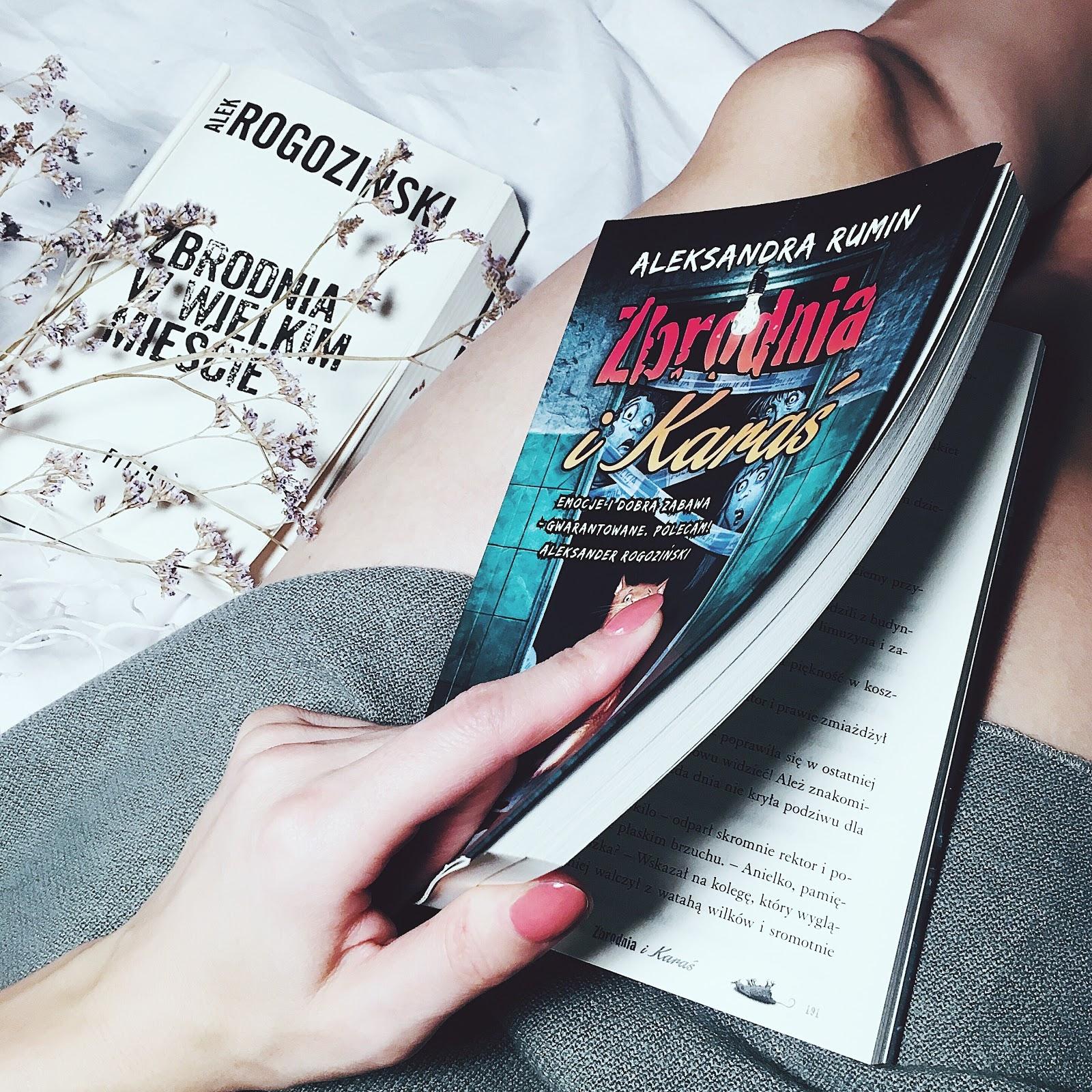 Zbrodnia i Karaś – Aleksandra Rumin. Przedpremierowo