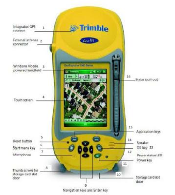 Cara Menggunakan GPS Trimble Geo XT 3000