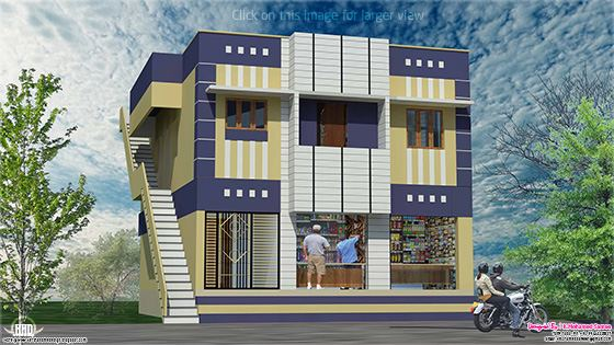 home with shop design
