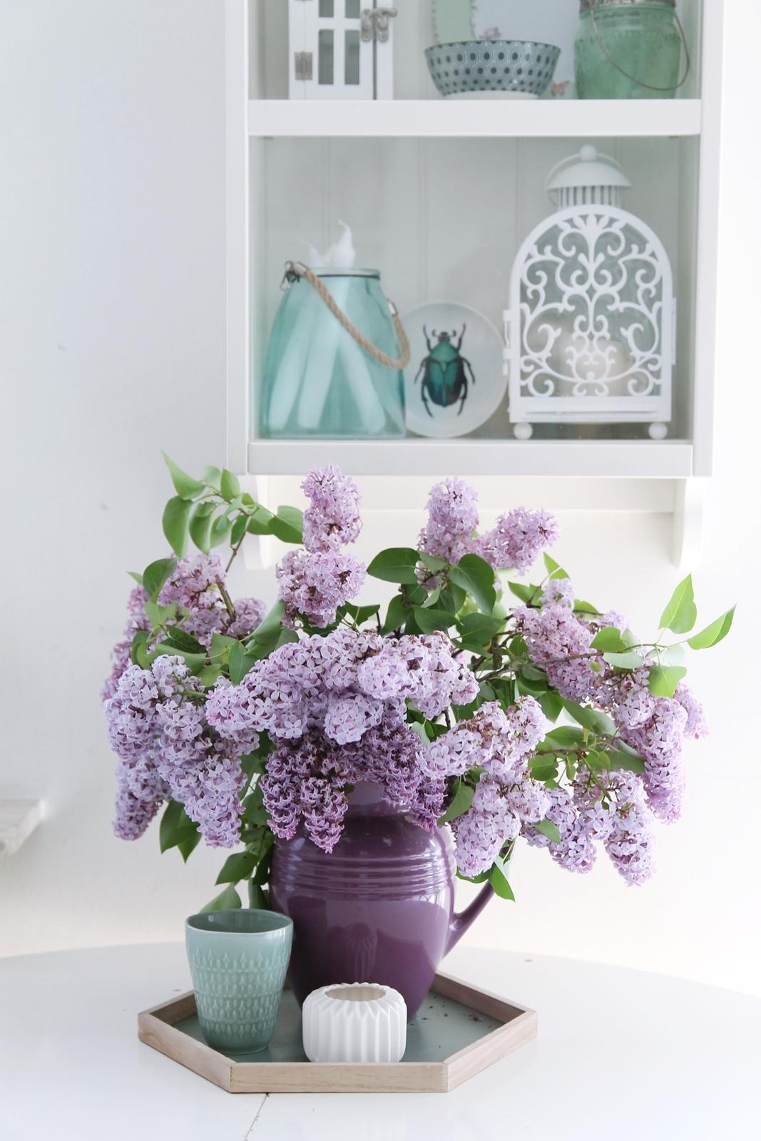 Vintage lilac, retro style