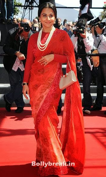 Vidya Balan, Which Bollywood Actress Wear the Worst Outfit in Year 2013?
