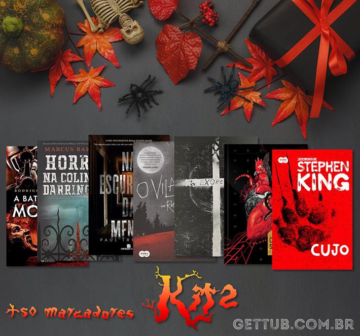 Promoção | Sorteio de Halloween: concorra a mais de 40 livros e 500 marcadores de páginas