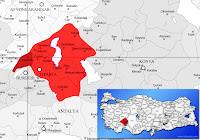 Keçiborlu ilçesinin nerede olduğunu gösteren harita