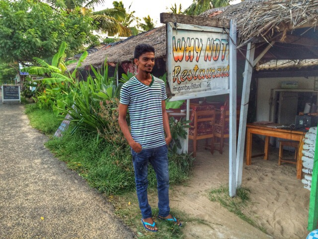 Why Not Restaurant in Arugam Bay