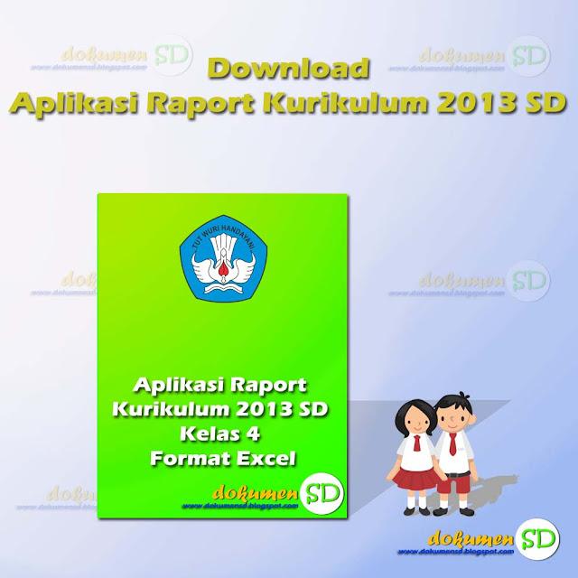 Unduh Aplikasi Raport Kurikulum 2013 SD Kelas 3 Format Excel