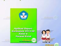 Unduh Aplikasi Raport Kurikulum 2013 SD Kelas 4 Format Excel