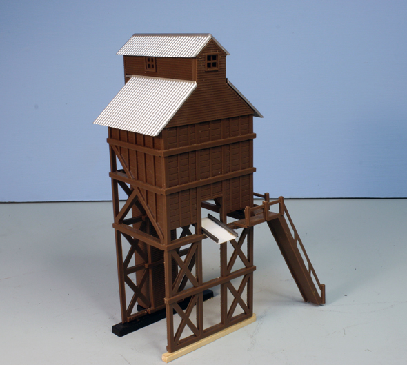 White River Division N Scale Coal Tower