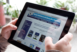 web de la Biblioteca Luis Ángel Arango