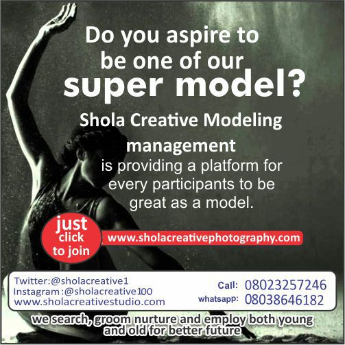Shola-creative-model-management-services