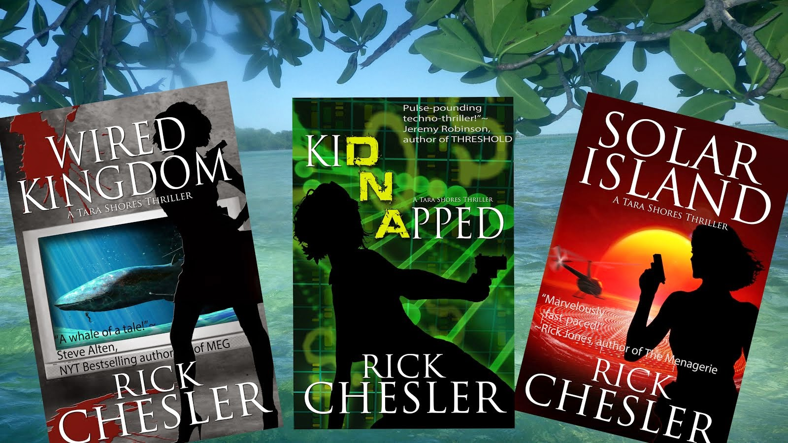 Author Rick Chesler