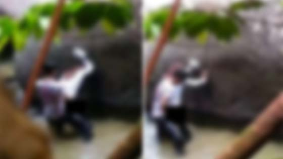 Video Pasangan Melayu Kantoi Berzina di Sebalik Batu Besar Tersebar