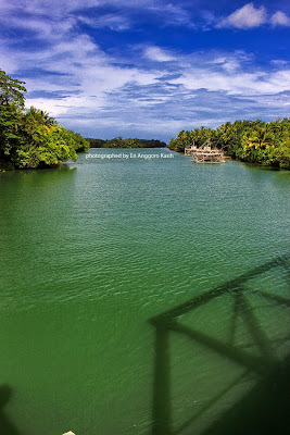 Muara Sungai Cimedang, indah dan cocok untuk memancing.