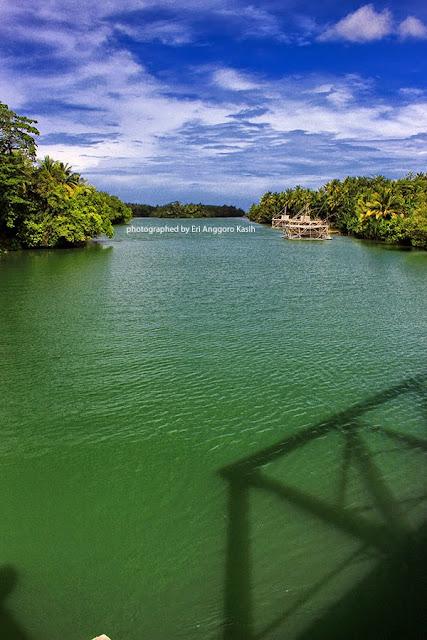 Muara Sungai Cimedang, indah dan cocok untuk memancing