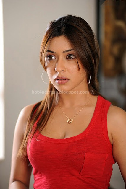 PAYAL GOSH HOT and sexy in red top
