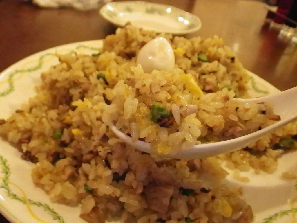 炒飯はうーん。 ◆Menu   「ジャンボ餃子+五目炒飯」将龍@青葉台