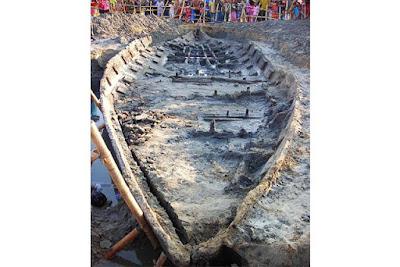 Berita Misteri - Perahu Tertua Zaman Mataram Hindu Abad ke-7