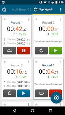تطبيق Multi Timer StopWatch مهكر للأندرويد, تطبيق Multi Timer StopWatch كامل للأندرويد