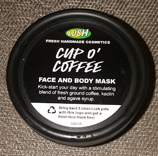Lush Cup O' Coffee & Catastrophe Cosmetic Masks and Tea Tree Water Toner