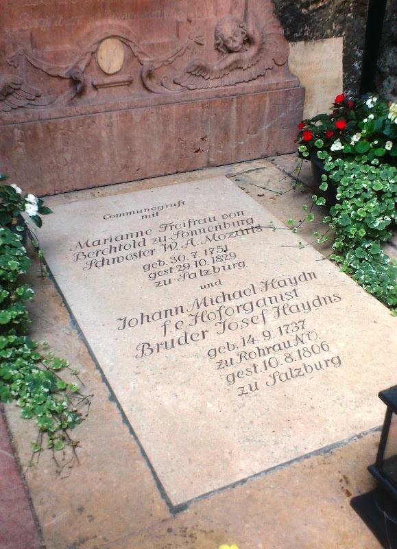 Michael Haydn - Cementeri de Sant Peter