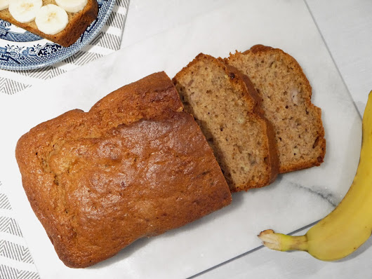 Classic Banana Bread | The Betty Stamp