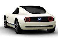 Honda Sports EV Concept (2017) Rear Side