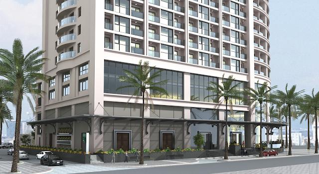 Phối cảnh của dự án Luxury Apartment
