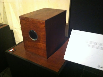 Projector Prototype, Facsimile from Da Vinci's Notebooks