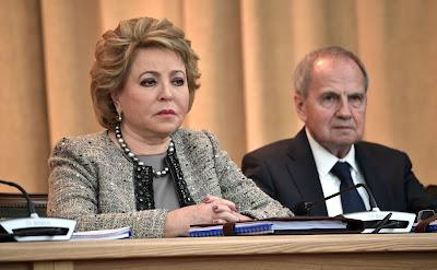 Valentina Matviyenko, Valery Zorkin.