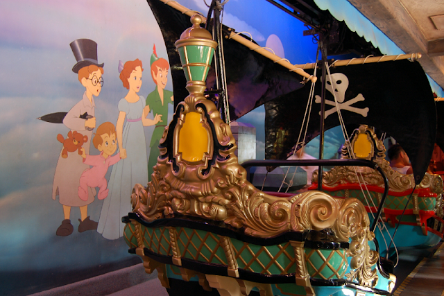 Peter Pan's Flight na Disney em Orlando