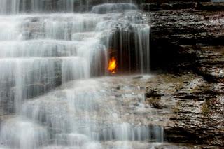 Eternal Flam Falls, New York