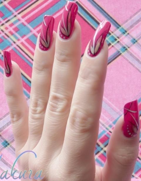 Gup Shup: Latest Beautiful nail Designs for girls