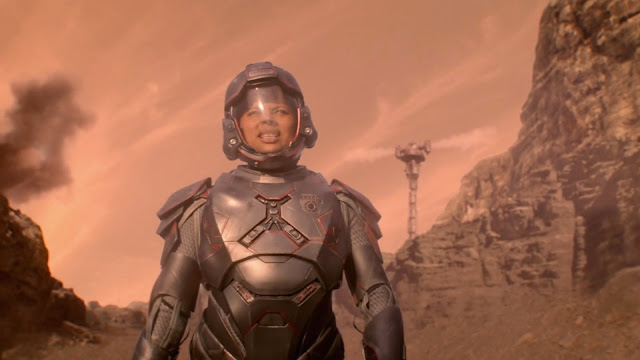 Martian soldier - Mars image from The Expanse