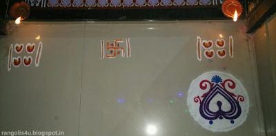 Door Step Rangoli Collection
