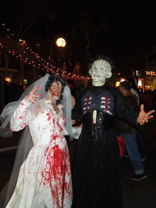 Hellraiser Pinhead costume West Hollywood Halloween