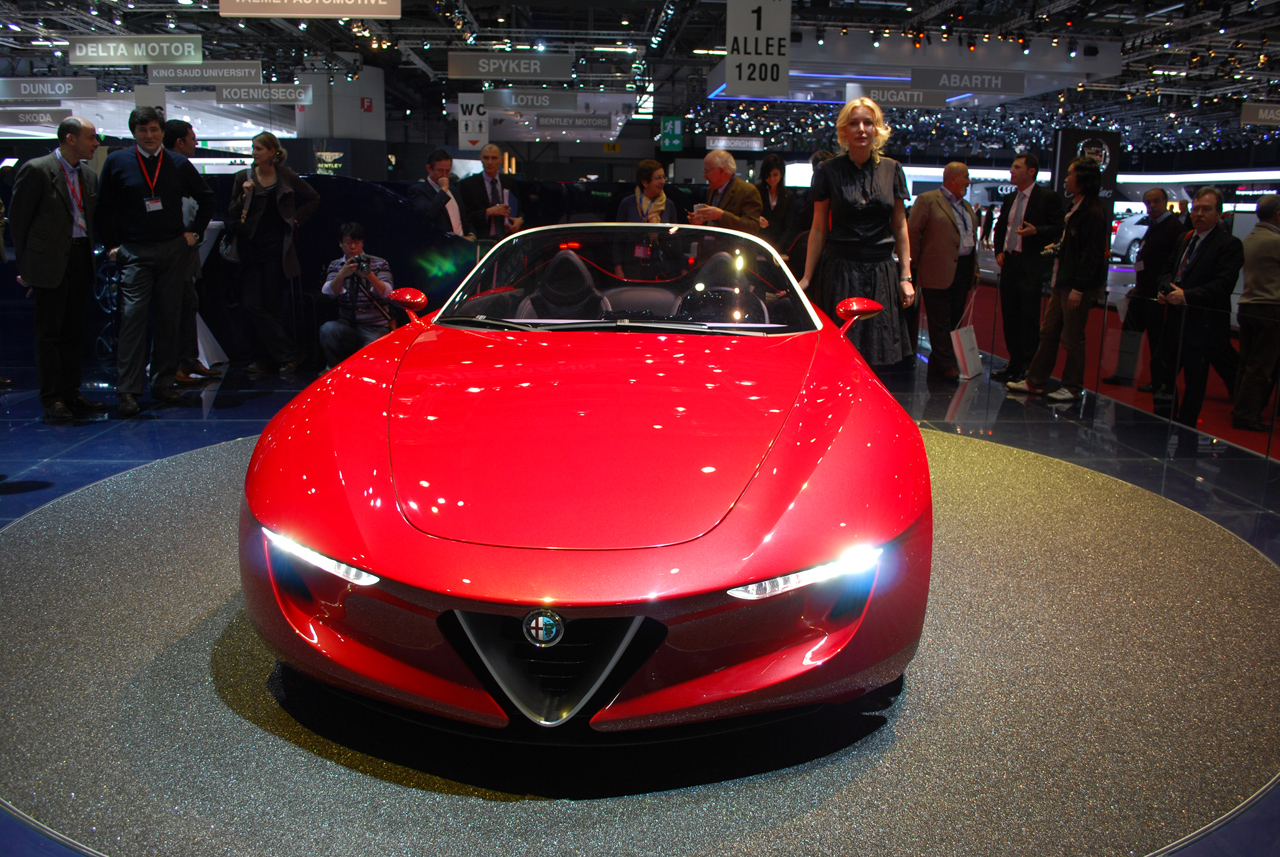 Next Generation Sports Car - Pininfarina Alfa Romeo