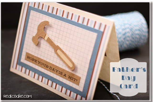 simple handmade father s day card the real thing with the coake family