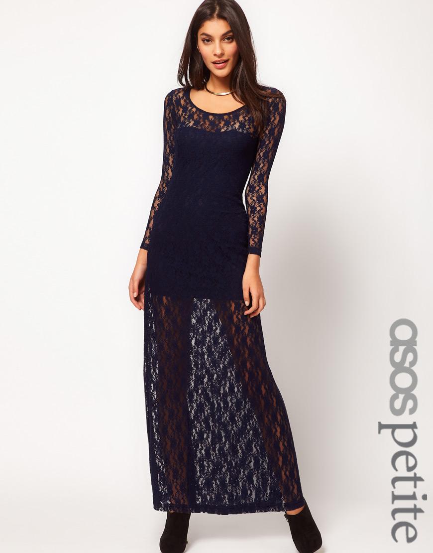 29532496fc9 Asos Petite Maxi Dress Black