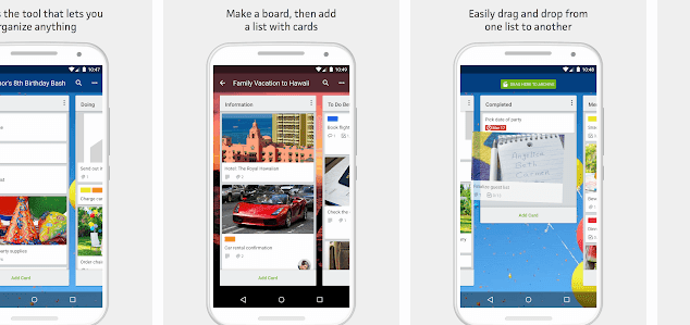 trello,seo apps for android, digital marketing apps for android, social medial marketing apps