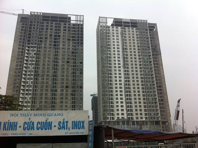 Tiến độ dự án Eco Green City luôn được đảm bảo