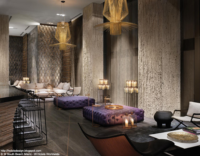 w hotel living room lounge les plus beaux hotels design du monde h 244 tel w south 22471