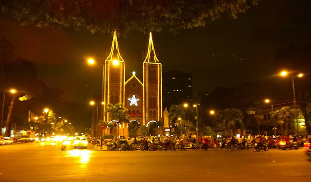 Merry Christmas Festivals in Vietnam 2