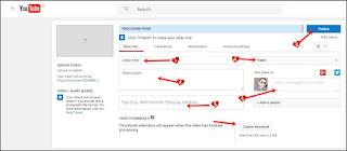 youtube channel par video kaise upload kare step3
