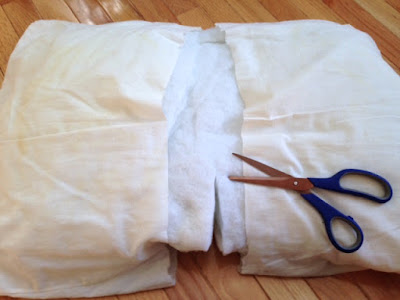 diy pillow form