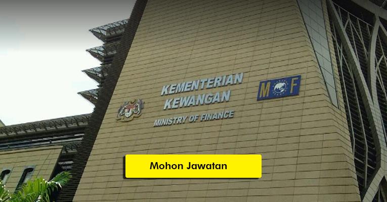 Jawatan Kosong di Kementerian Kewangan Malaysia