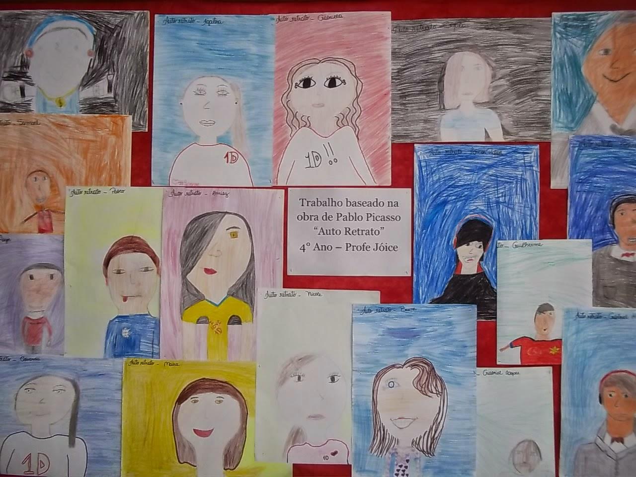 Coisa De Crianca Autorretrato De Pablo Picasso